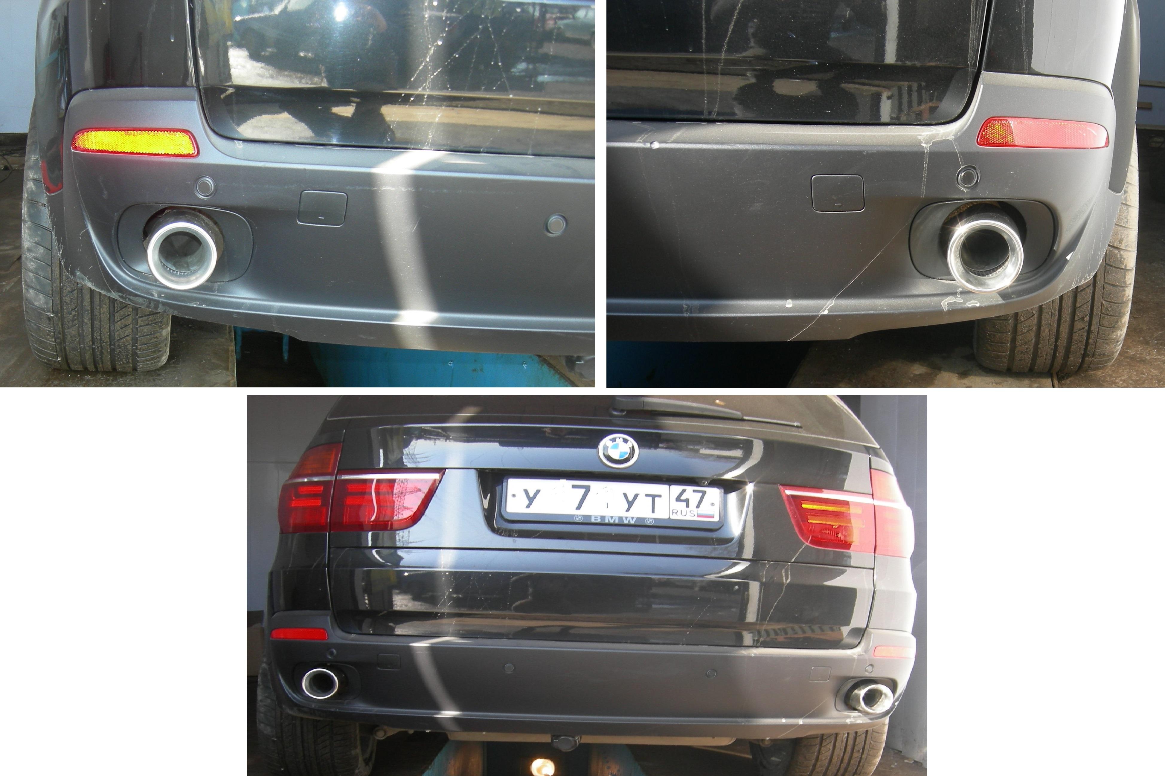 Насадка на глушитель BMW X5